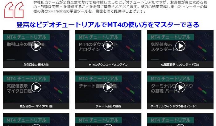 XM XMTradingのビデオチュートリアルでMT4の使い方を完全マスター