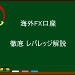 海外FX 徹底  レバレッジ解説
