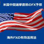 【FX外国為替】米国中間選挙直前のFX予想と海外FXの有効活用法