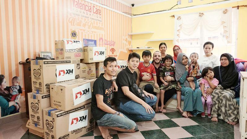 XMの慈善事業、チャリティー活動